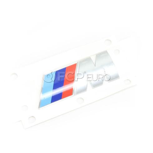 BMW Emblem Adhered (M) - Genuine BMW 51148041424
