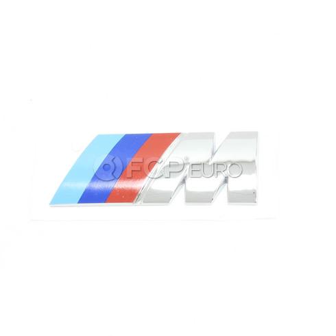 BMW Engine Cover M Emblem - Genuine BMW 11617831266
