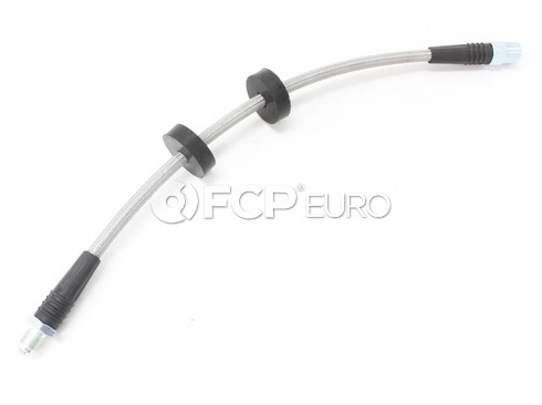 Audi VW Volvo Brake Hose - Techna-Fit (Stainless Steel) 1329594
