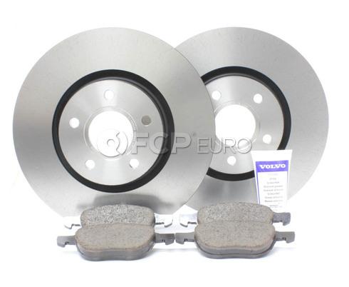 """Volvo Brake Kit 11.81"""" Front 5 Piece (C30 S40 V50 C70) - Genuine Volvo KIT-P1300FTBKP5"""