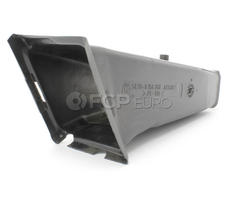 BMW Front Brake Air Duct Left (318i 325i E36) - Genuine BMW 51718156251