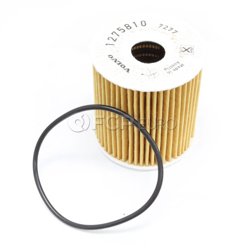 Volvo Engine Oil Filter Kit (S40 S60 S70 S80 V70 XC70 XC90) - Genuine Volvo 1275811