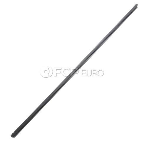 BMW Outer Weatherstrip Left (Black) - Genuine BMW 51328227625