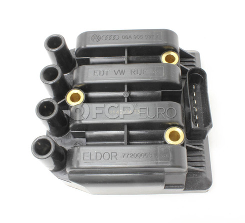 VW Ignition Coil (Beetle Golf Jetta) - Genuine VW Audi 06A905097A