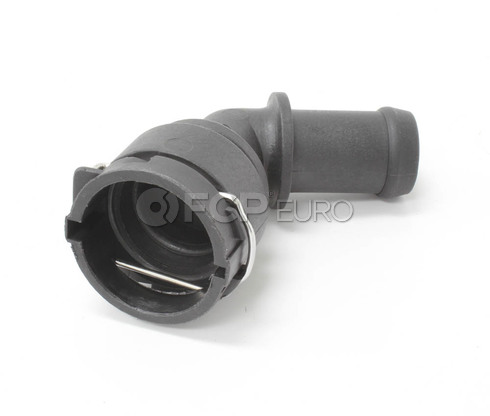 VW Heater Hose Connector (Beetle Golf Jetta) - OEM Supplier 1J0122291D