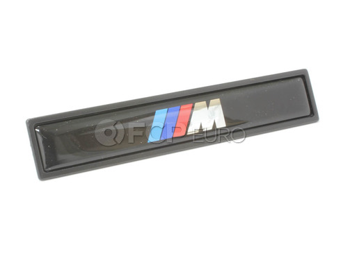 BMW Plaque (M) - Genuine BMW 51132264666