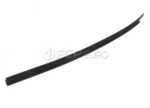 BMW Door Weather Strip Inner Left (Black) - Genuine BMW 51211945591