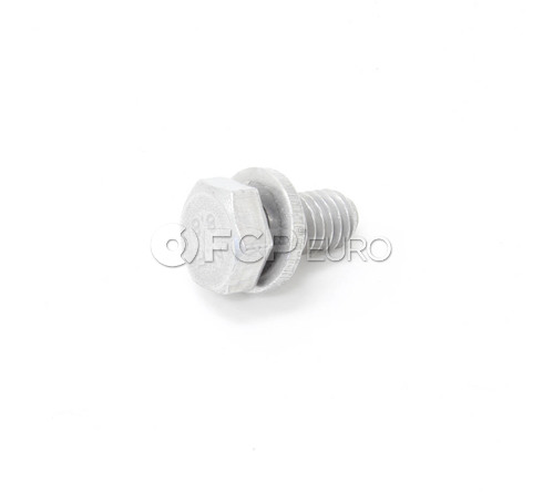 BMW Hex Bolt With Washer (M6x12) - Genuine BMW 07119904517