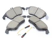 Mercedes Brake Pad Set - Akebono 0074205820