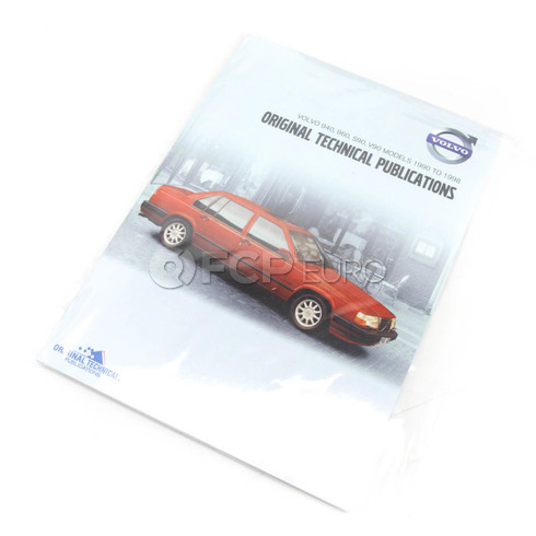 Volvo Repair Manual CD-ROM (940 960 S90 V90) - TP-51957