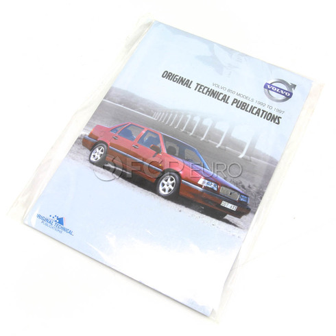 Volvo Repair Manual CD-ROM (850) - TP-51956