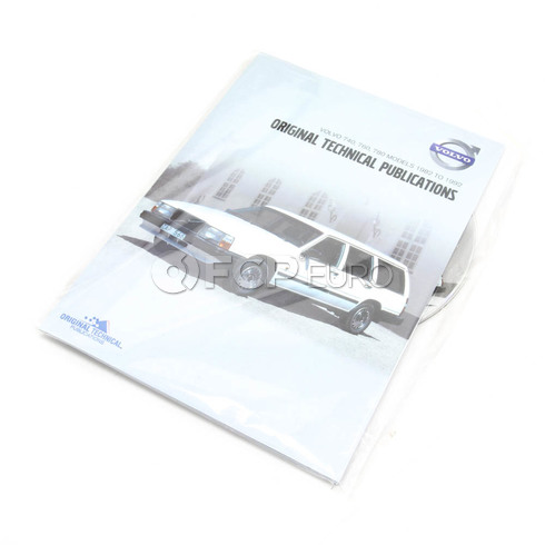 Volvo Repair Manual CD-ROM (740 760 780) - TP-51955