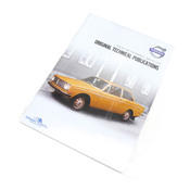 Volvo Repair Manual CD-ROM (140 142 144 145 164) - TP-51951