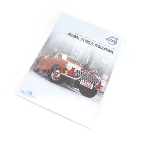 Volvo Repair Manual CD-ROM (1800 1800ES 1800E 1800S) - TP-51949