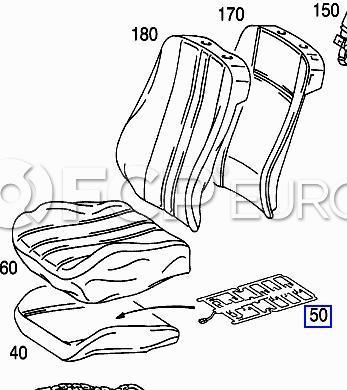 Mercedes Child Seat Occupancy Sensor E320