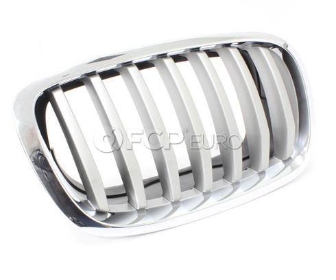 BMW Grille Front Right (Titan 2) - Genuine BMW 51137307600