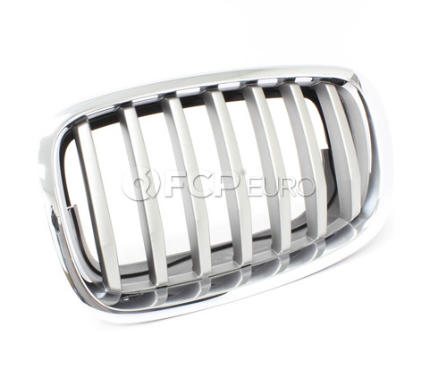 BMW Grille Front Left (Titan 2) - Genuine BMW 51137307599