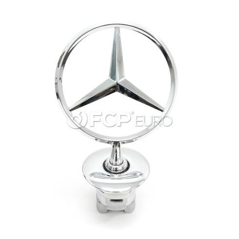 Mercedes Hood Emblem - Genuine Mercedes 2218800086