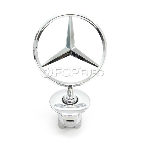 Mercedes Hood Ornament - Genuine Mercedes 2218800086