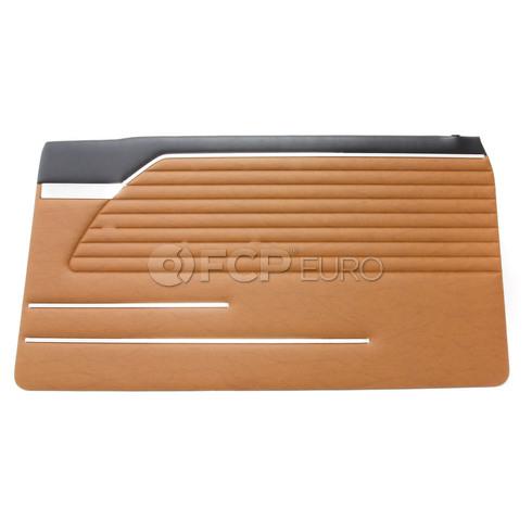 BMW Door Trim Panel Right (Goldbraun-Schw) - Genuine BMW 51411816862