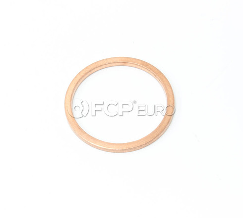 Porsche Engine Oil Drain Plug Gasket (911) - Genuine Porsche 90012301020