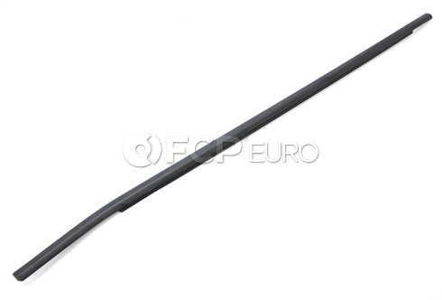 BMW Channel CoverExteriorDoor Front Right (Black) - Genuine BMW 51337136966