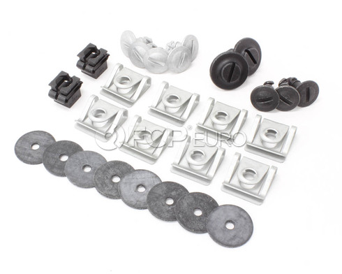 Audi B6 Engine Splash Guard Hardware Kit