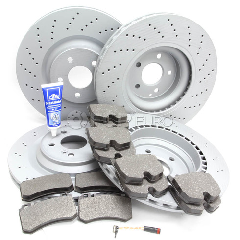 Mercedes Brake Kit Comprehensive (SL55 AMG) - Zimmermann R230AMGFRBK1