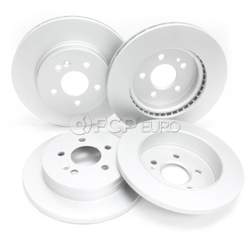 Mercedes Brake Kit Comprehensive (ML320) - Meyle W163FRBK1
