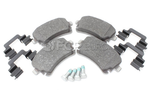 Audi Disc Brake Pad Rear (A6 Quattro A6 S6) - Genuine VW Audi 4F0698451F
