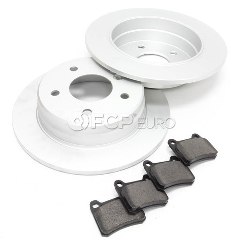 Mercedes Brake Kit Rear (C230) - Meyle W202RBKEARLY1