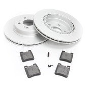 Mercedes Brake Kit Rear (SL500 SL600) - Meyle R129RBK1