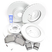 Mercedes Brake Kit Comprehensive (SL500 SL600) - Meyle R129FRBK1