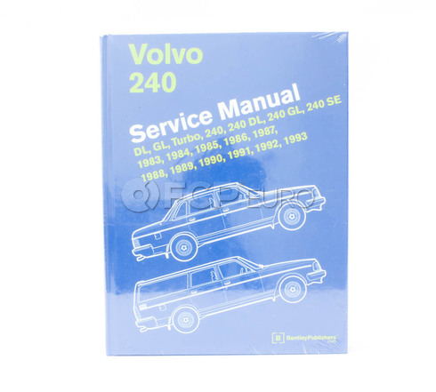 Volvo Bentley Repair Service Manual (240 244 242 245) Bentley L293