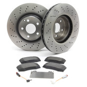 Mercedes Brake Kit Front (E350) - Zimmermann W211SPRTFBK1