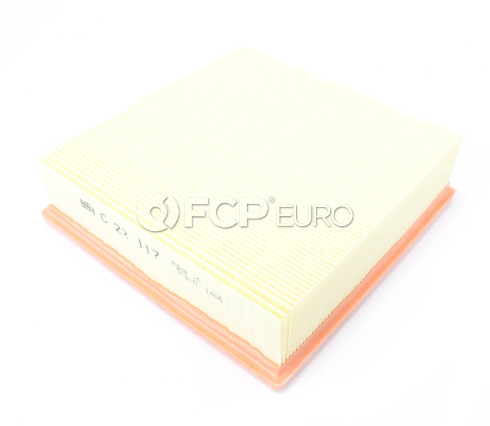 Jaguar Audi Porsche Volvo VW Air Filter - Mann C22117