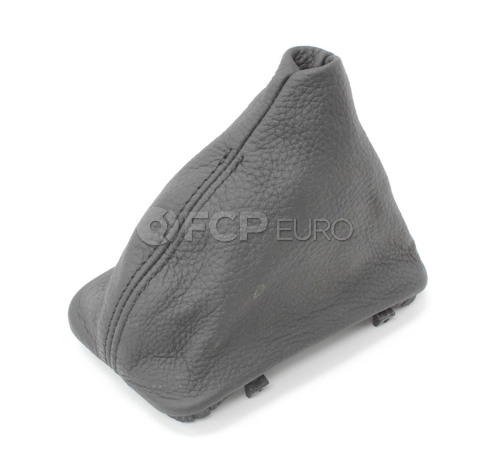 BMW Selector Lever Boot Steptronic (Black) - Genuine BMW 25167524978