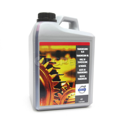Volvo Automatic Transmission Fluid 4 Liter - Genuine Volvo 1161640