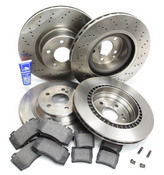 Mercedes Brake Kit Comprehensive (S600 CL600) - Zimmerman W220AMGFRBK1