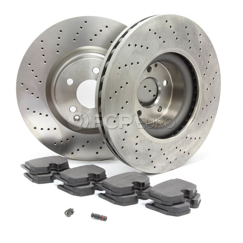 Mercedes Brake Kit Front (CL55 S55 AMG)- Zimmerman/Pagid W220AMGFBK1