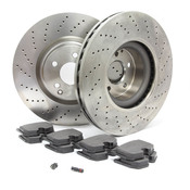 Mercedes Brake Kit - Zimmermann W220AMGFBK1