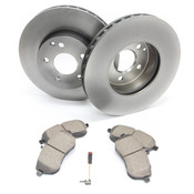 Mercedes Brake Kit Front - Zimmerman W204FBK1