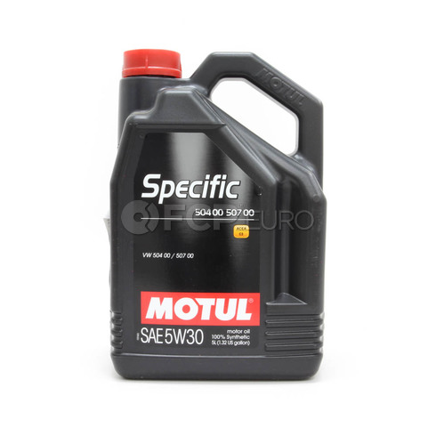 Motul Synthetic Engine Oil SPECIFIC 504 00-50 700 5W30 (5 Liter) - 018812