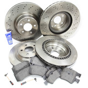 Mercedes Brake Kit Comprehensive (S500) - Zimmerman W220SPTLATEFRBK