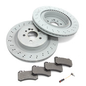 Mercedes Brake Kit - Zimmermann W220S65RBK
