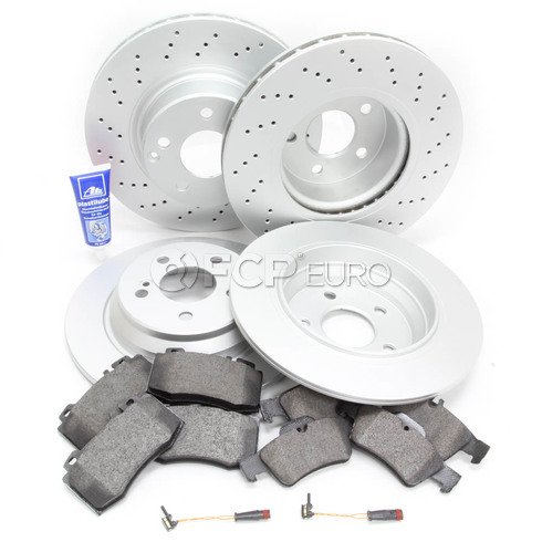 Mercedes Brake Kit Comprehensive (S430 S500) - Meyle W220LATEFRBK1