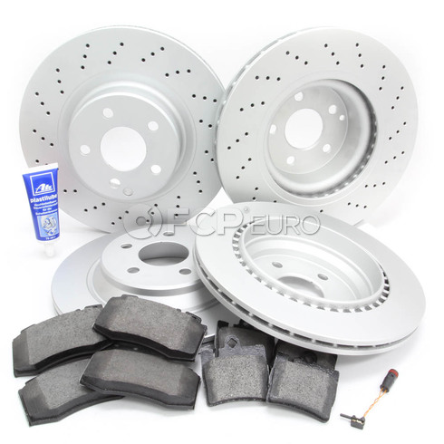 Mercedes Brake Kit Comprehensive (S430 S500) - Meyle W220FRBK1