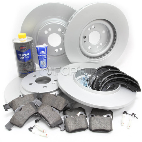 Mercedes Brake Kit Comprehensive (ML430) - Meyle W163V8FULLBK1