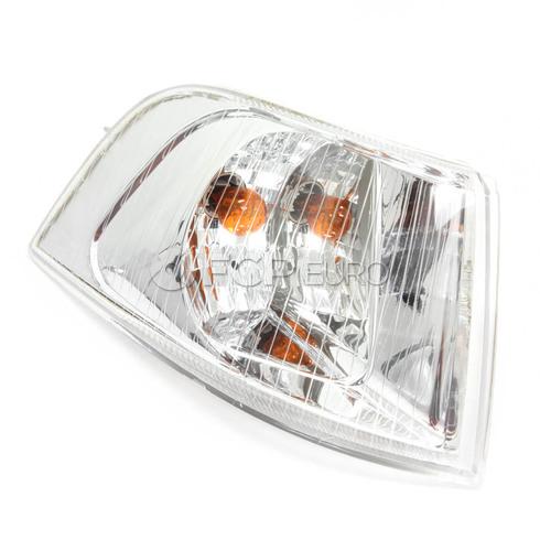 Volvo Turn Signal Assembly Right (S40 V40) TYC Chrome Bezel 30621834