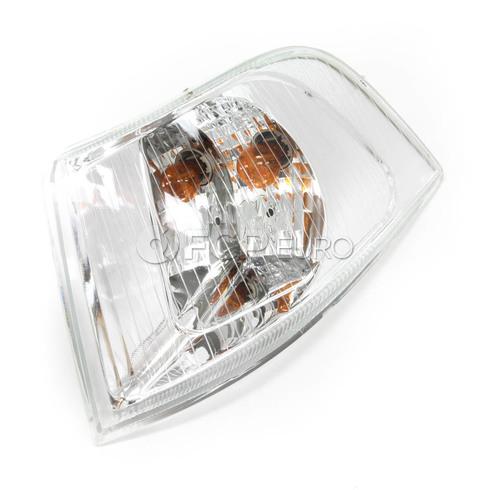 Volvo Turn Signal Assembly Left (S40 V40) TYC Chrome Bezel 30621833
